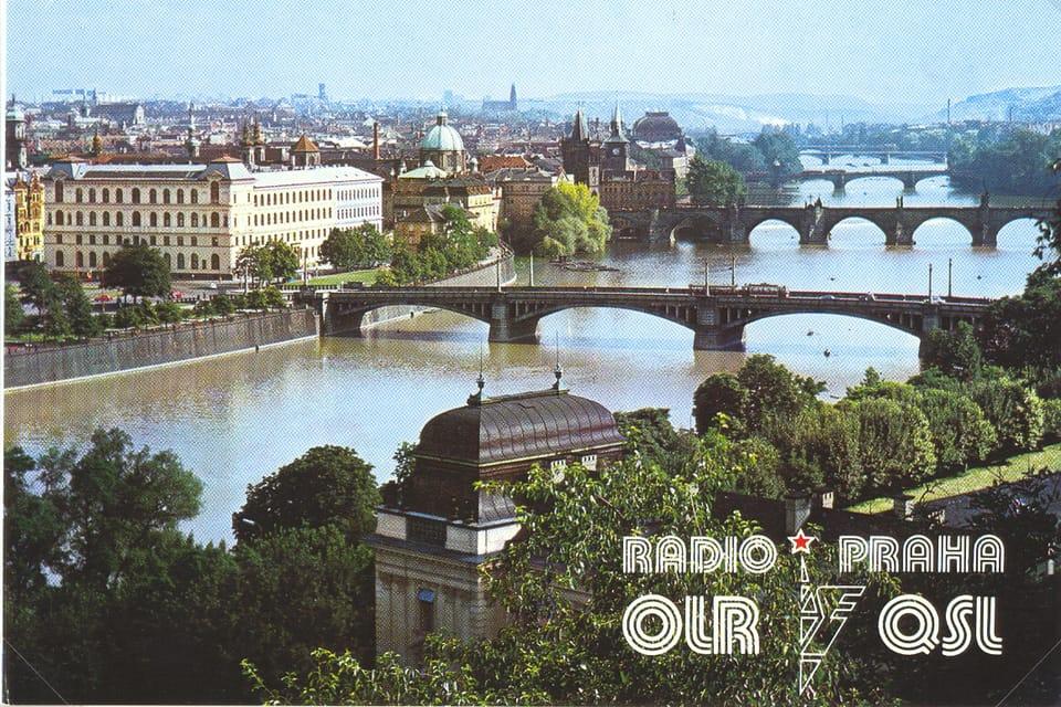 QSL card  (1980) | Photo: Radio Prague International