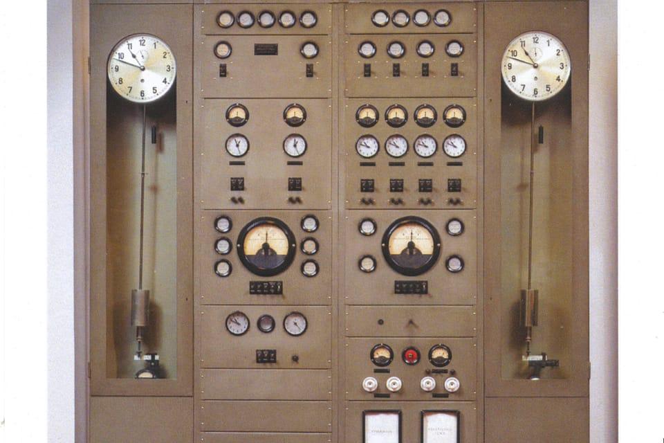 Timekeeping centre from 1941,  photo: Khalil Baalbaki