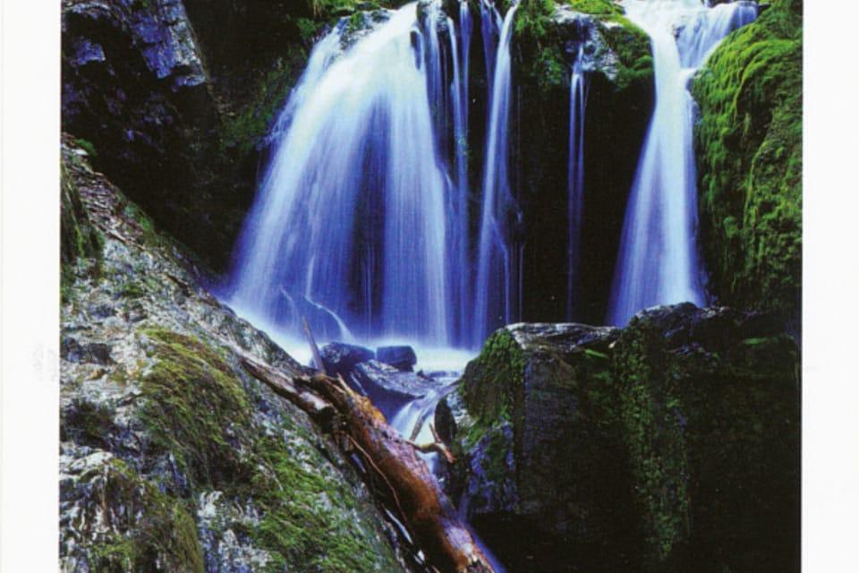 Jeseník – Bílá Opava waterfalls,  photo: CzechTourism