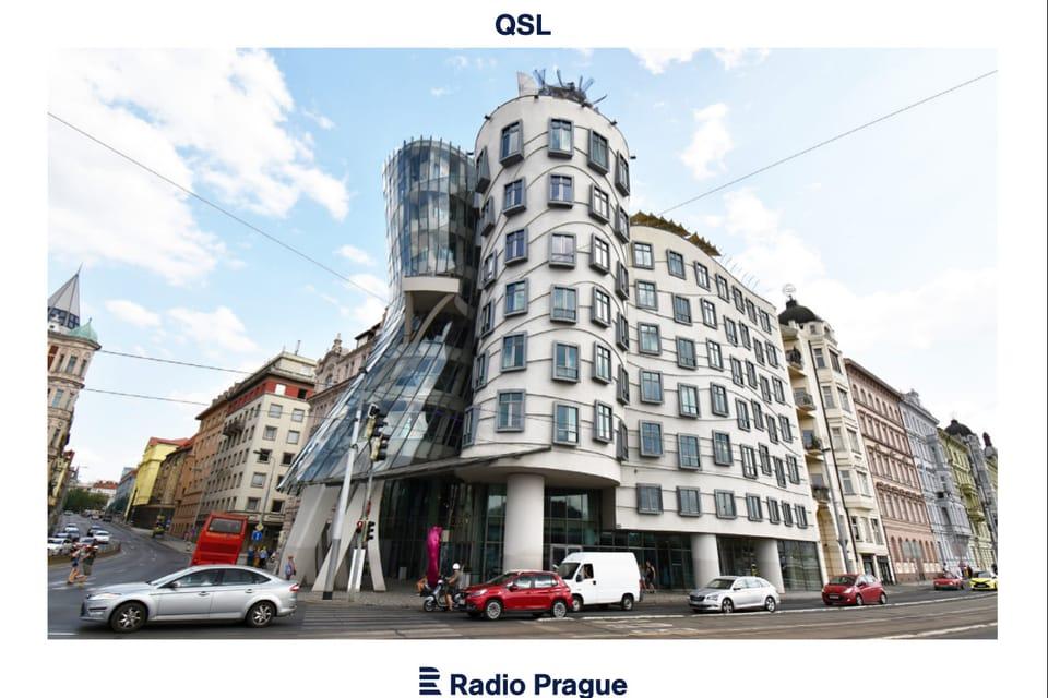Dancing House,  Prague,  1996,  Architects: Vlado Milunić,  Frank O. Gehry,  photo: Ondřej Tomšů