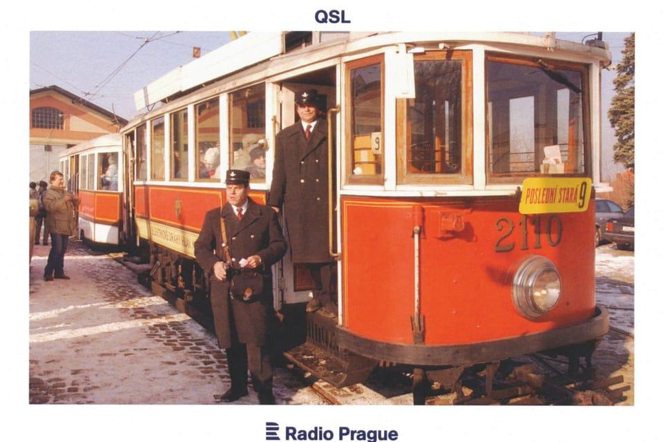 Historical tram – Model T2110,  photo: Stanislav Peška,  ČTK
