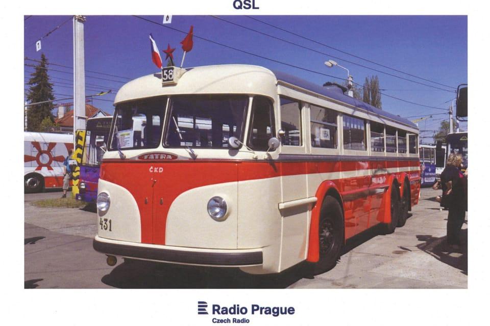 Tatra T-400 bus,  photo: Rostislav Kalousek,  ČTK