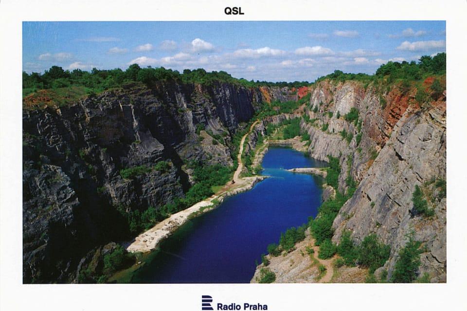 Velká Amerika  (Big America) quarry,  photo: CzechTourism