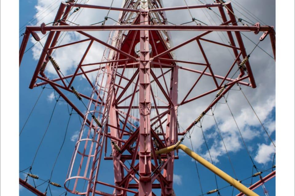Topolná longwave transmitter,  photo: Andrea Filičková