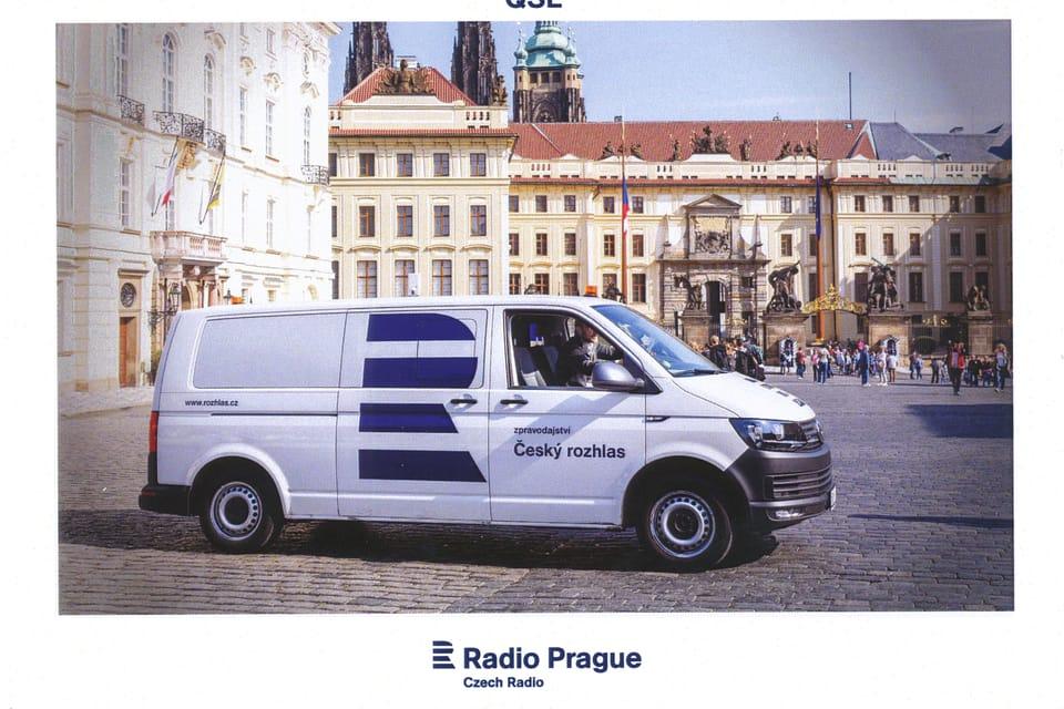 Shortwave outside broadcasting vehicle,  photo: Khalil Baalbaki